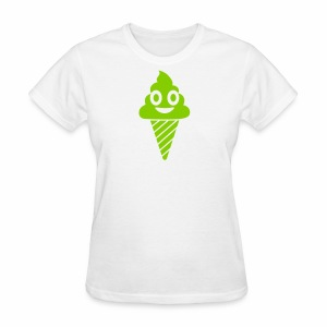 Smiling Ice Cream - Women's T-Shirt