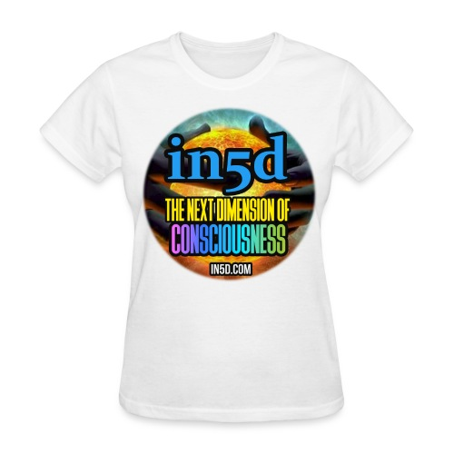 In5D Main Logo - Women's T-Shirt