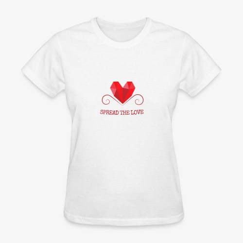 Spread the love - Women's T-Shirt