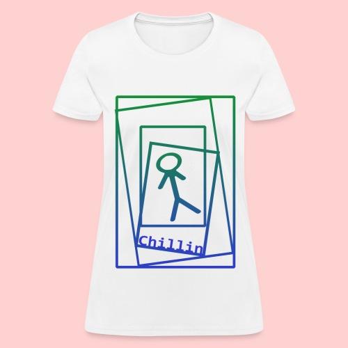 Chillin' Cubes - Women's T-Shirt