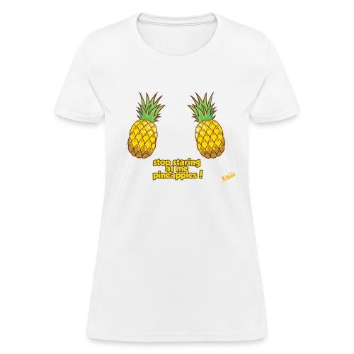 Pineapples - Women's T-Shirt