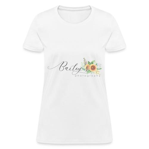 Bailey's Photography Logo - Women's T-Shirt