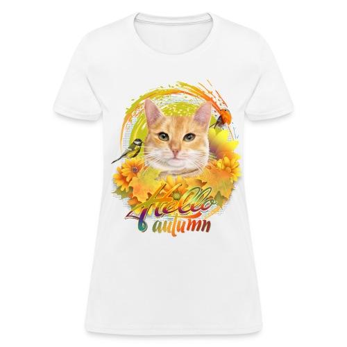 Autumn Cat - Women's T-Shirt