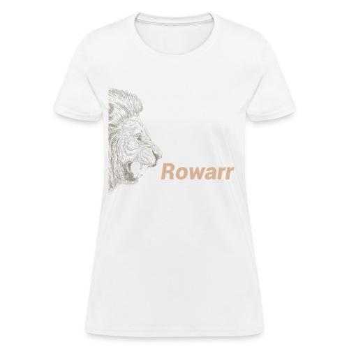 Rowar of the lion - Women's T-Shirt