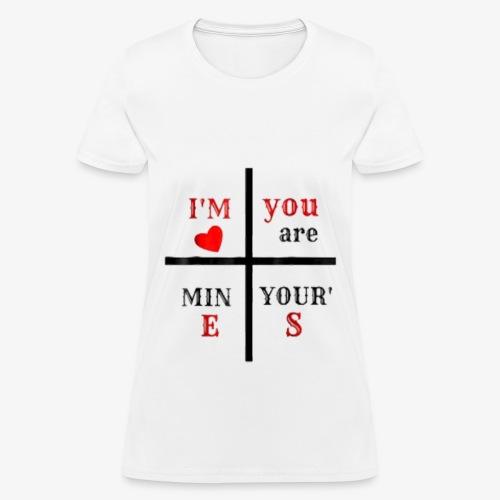 love t-shirt - Women's T-Shirt