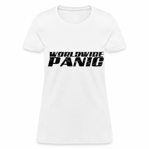 Worldwide Panic Logo Black - Women's T-Shirt