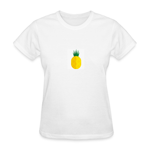 Pixel looking Pineapple - Women's T-Shirt