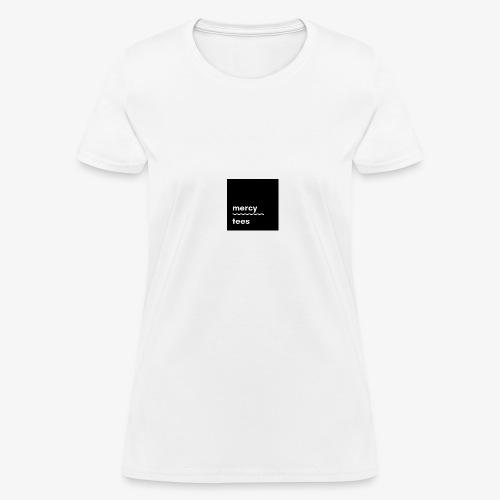 Mercytees black - Women's T-Shirt