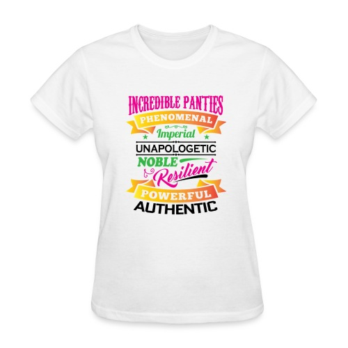 IncrediblePanties Multi Signature - Women's T-Shirt