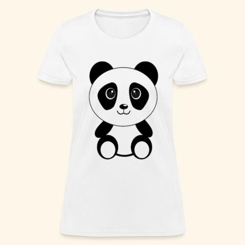PANDA GENTIL - Women's T-Shirt