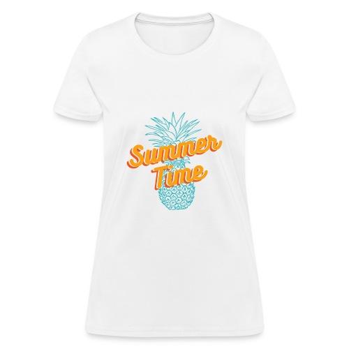 Summer time Pineapple T-shirt - Women's T-Shirt