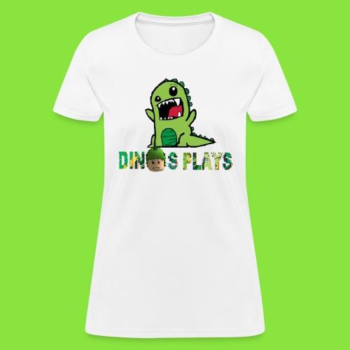 dinos plays - Women's T-Shirt