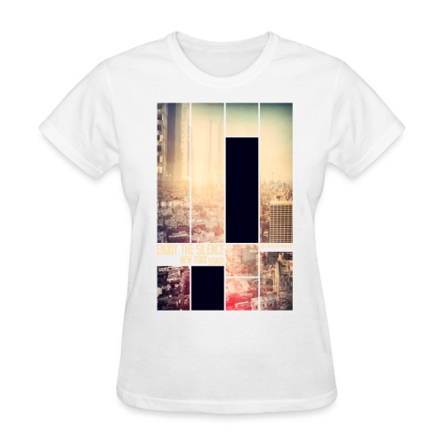 Enjoy the silence New York T-shirt - Women's T-Shirt