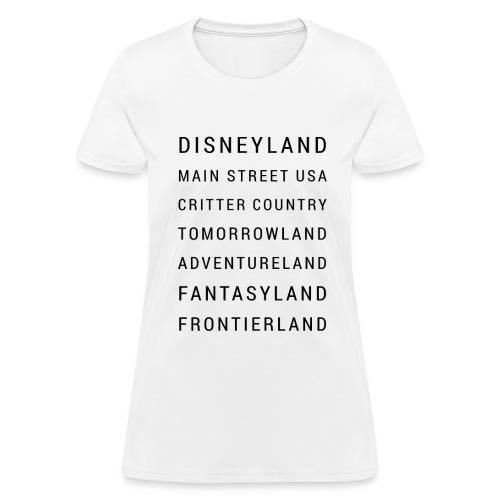 Minimalist Disneyland - Women's T-Shirt