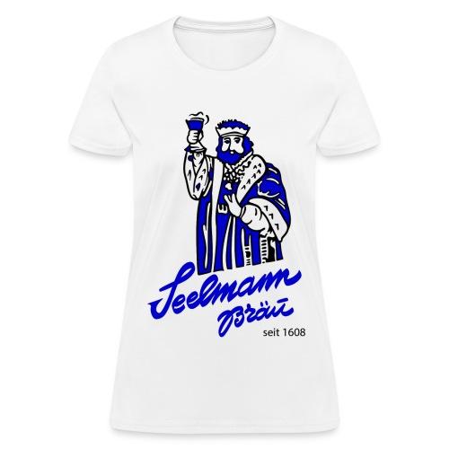 Brewery Gambrinus logo blue - Women's T-Shirt
