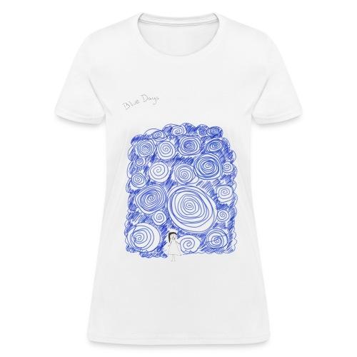 Blue Days - Women's T-Shirt