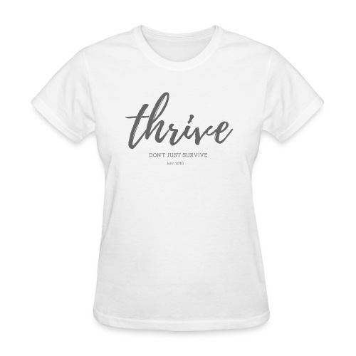 Thrive, don't just survive - Women's T-Shirt