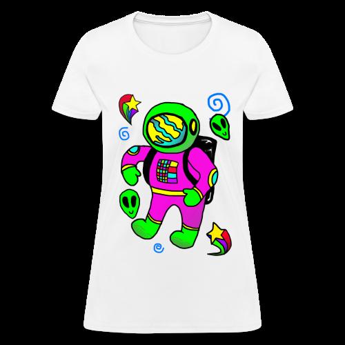 Space Explorer - Women's T-Shirt