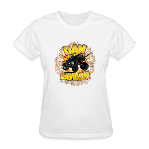 Monster Truck Logo - Women's T-Shirt