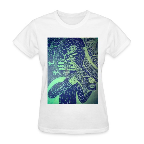Drawing - Women's T-Shirt