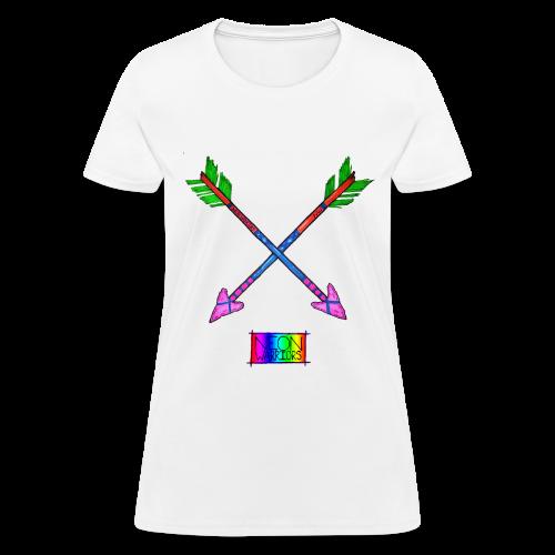 Neon Warriors Arrow - Women's T-Shirt