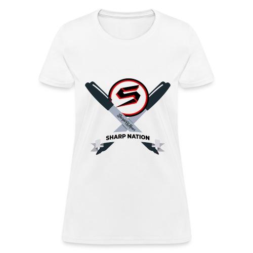 Sharp Nation Shirt - Women's T-Shirt