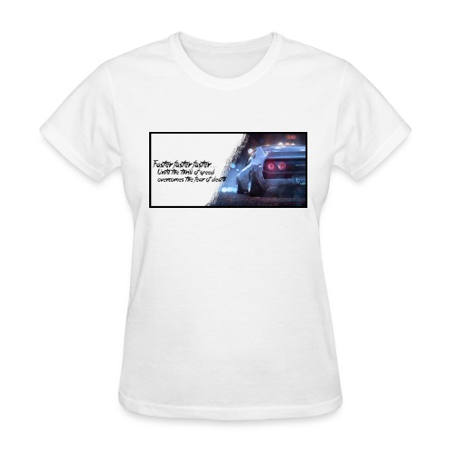Skyline - Thrill of speed - Women's T-Shirt