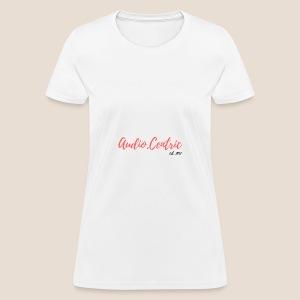 Audio.Centric WH/TE - Women's T-Shirt