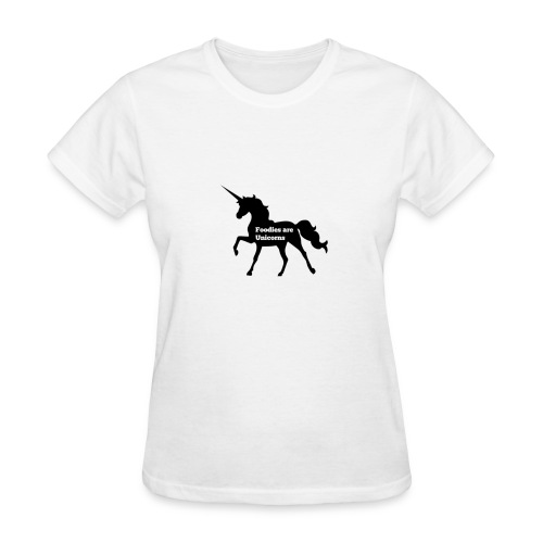 Foodies Are Unicorns - Women's T-Shirt