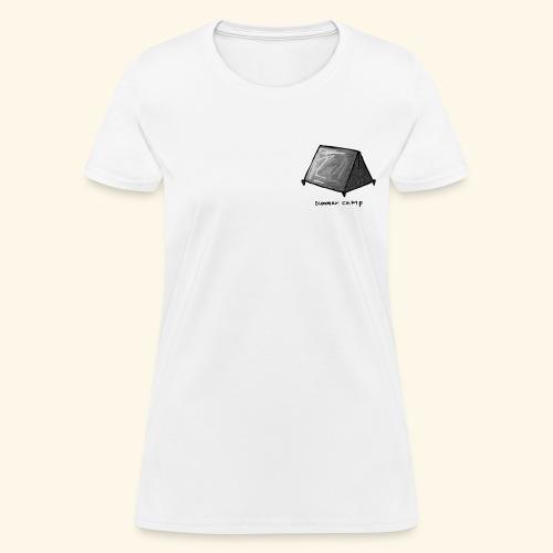 Summer Camp Tent Logo - Women's T-Shirt