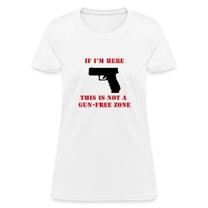 GunFreeZone - Women's T-Shirt