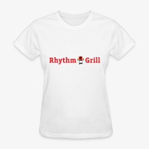 Rhythm Grill word logo - Women's T-Shirt