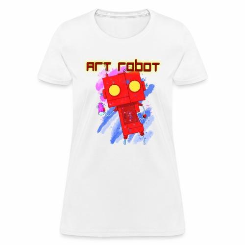 Art Robot - Women's T-Shirt