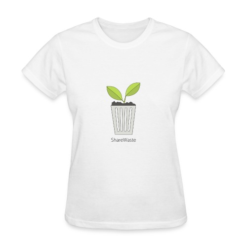 ShareWaste logo - Women's T-Shirt