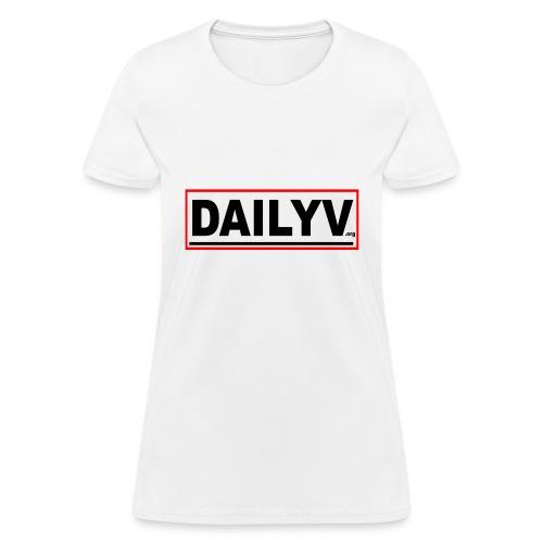 DAILYV.ORG - Women's T-Shirt