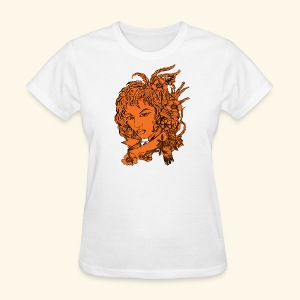 Women Face - Women's T-Shirt