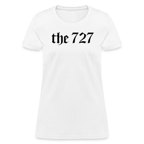 The 727 in Black Lettering - Women's T-Shirt