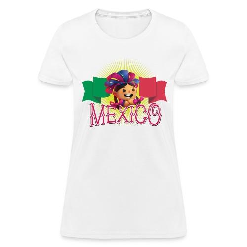 Viva Mexico Girl - Women's T-Shirt