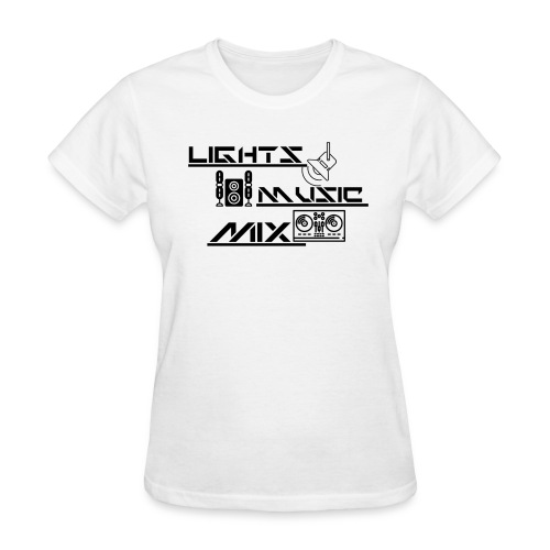 LMM (Black) - Women's T-Shirt