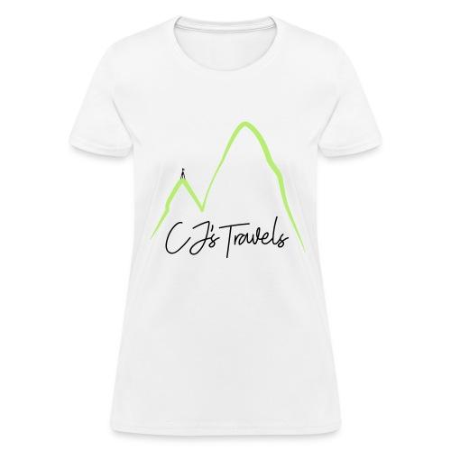 CJ s Travels Secondary - Women's T-Shirt