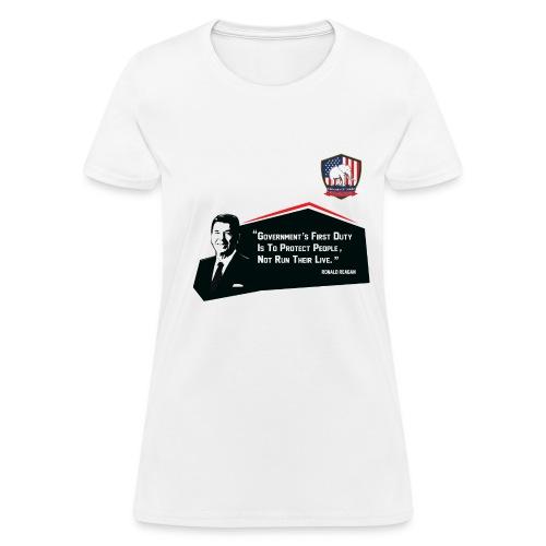 College Republicans UT - Ronald Reagan - Women's T-Shirt