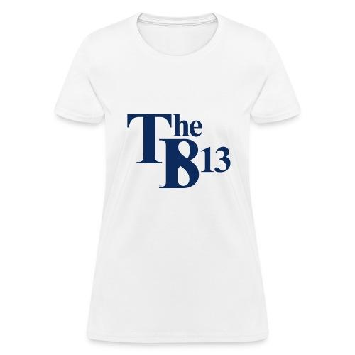 TBisthe813 BLUE - Women's T-Shirt