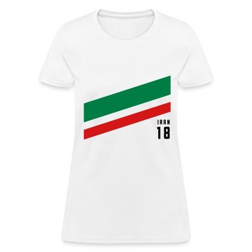 Iran Stipes - Women's T-Shirt