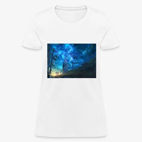 blue sky - Women's T-Shirt