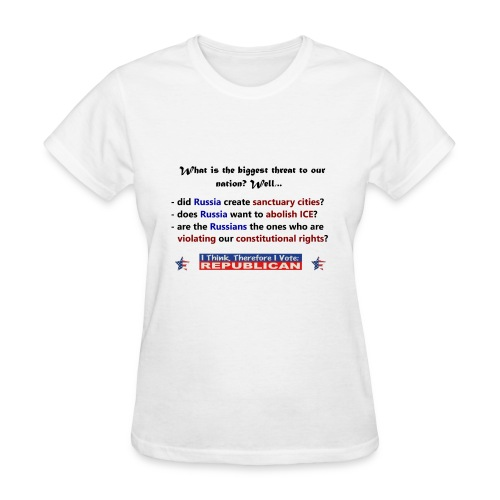 A vote for America. - Women's T-Shirt