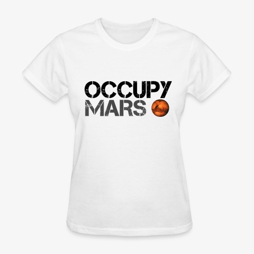 Occupy Mars - Space Planet - SpaceX - Women's T-Shirt