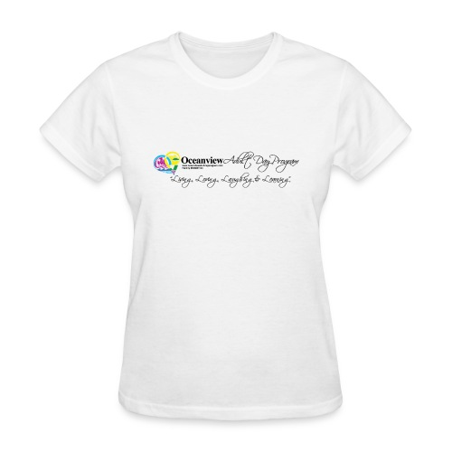 DAY PROGRAM LOGO BLACK - Women's T-Shirt