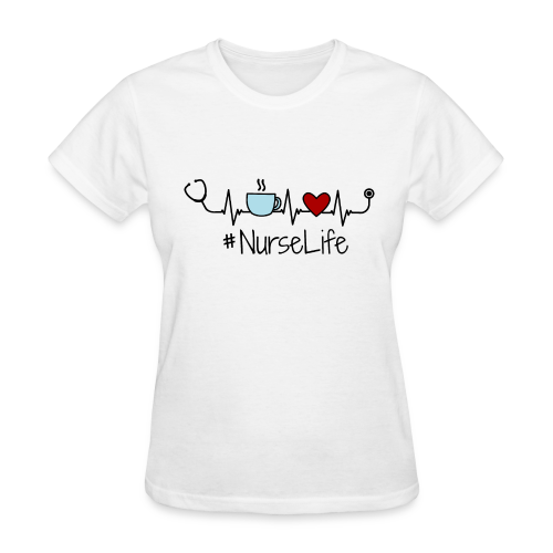 Nurse Life - Living that Nurse Life - Women's T-Shirt