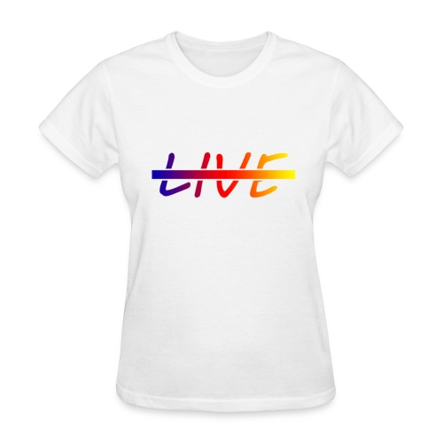 Live Logo Gradient - Women's T-Shirt