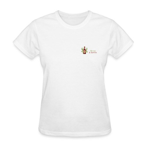 Beers & Burritos Logo - Women's T-Shirt